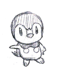 (B) Day 183 - Piplup by NuevoSketch