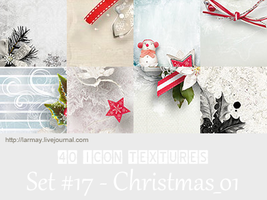 40 icon textures - christmas1 (set#17) by larmay