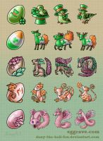 Pet creatures by Dany-the-Hell-Fox