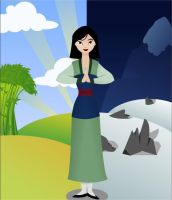 Lesson Number One - Mulan by Dalia1991