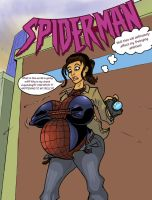 SpiderMan Trouble Issue 1 Cover by sampleguy