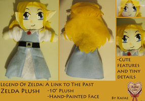 ALTTP: Zelda Plush by Kafae-Latte