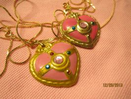 PGSM SAILOR MOON Heart Locket Necklace 4sale by Glitter-Garage