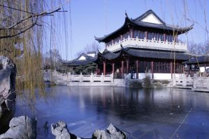 Chinese garden Stock 42 by Malleni-Stock