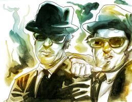 Blues Brothers by EvanBryce