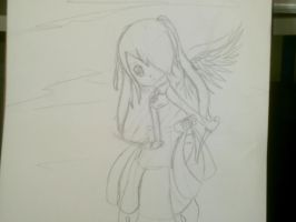 Jessica flying by deaththekidfangirl