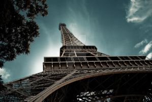 Eiffel tower by redanksdesign