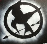 Mockingjay Stencil Tribute by elninja