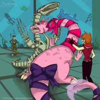 Sea creatures FIGHT by arger