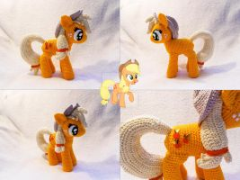 Applejack Amigurumi other views by LeFay00