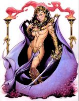 Dejah Thoris by Reverie-drawingly