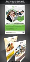 Multipurpose Flyer / Magazine AD by graphicstock
