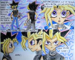 The cute scale: 1 to Yugi by Im-so-startled