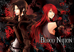 The Blood Nation YAOI Comic Series - Cover by zefiar