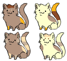Cat Breeding Results 12 [4/4 OPEN] by redroseadopts