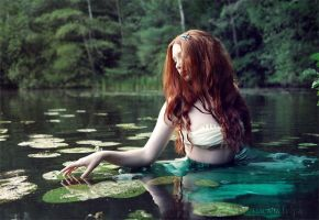 Helena - the sorrowful Naiad I by NataliaLeFay