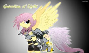 Light Guardian Fluttershy ~ Frost Blast by FireFlash-FrostBlast