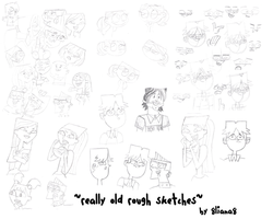 Rough Sketches by 8liana8