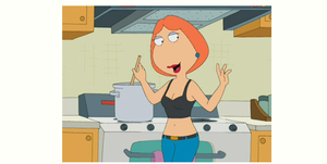 Lois Griffin nosless 2 by EarWaxKid