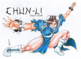 Chun Li by MemoryTreasures