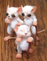Three blind mice by aleahklay