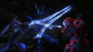Dual of the Fates...HALO style by HobbitPunk