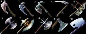 Axes Icon Set by Caetis