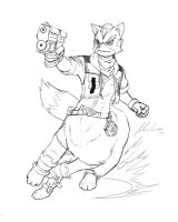 Fox McCloud Taur by JECBrush