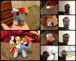 Rainbow Dash Amigurumi by Ignition4596