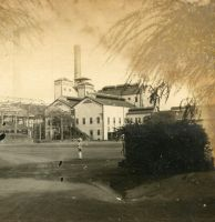 Construction of sugar mill on Oahu Hawaii by Brightstone