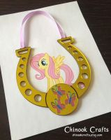 My Little Pony MLP - Fluttershy - Magic Horseshoe by ChinookCrafts