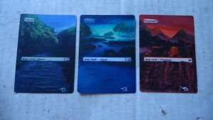 First Card Alters (LANDS) by somechick73