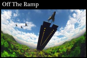 Off The Ramp Print by dmaland