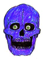 Skull Drawing by PredatorVision