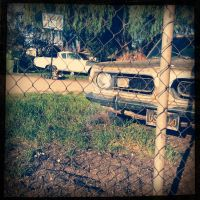 Rusted Car by LeoCronis