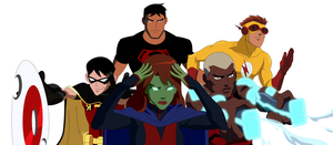 Young Justice - Original Team by 1984neptune