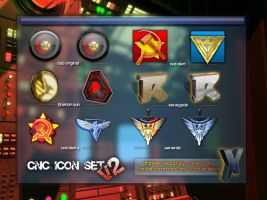 Command and Conquer Icon Set 2 by Cody-7