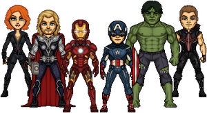 Avengers Assemble by haydnc95