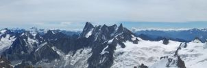From the Aiguille du Midi by vttiste