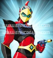 Duke Fleed - Grendizer by EnricoGalli
