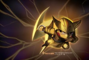 Pikachu Kennen by charapple