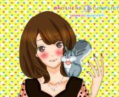 Ema novel vol 2 - brothers conflict by IAMeikoD