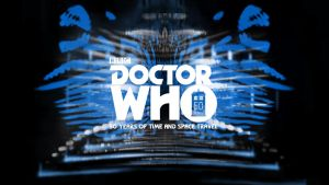 Doctor Who 50th Anniversary - Blue Hue Wallpaper by theDoctorWHO2