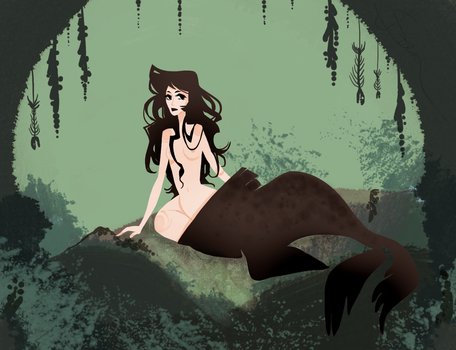 Selkie by CrystallizedTwilight