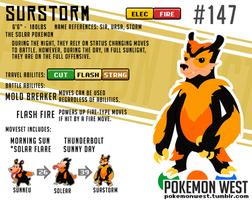 #147 Surstorm by pokemonwest