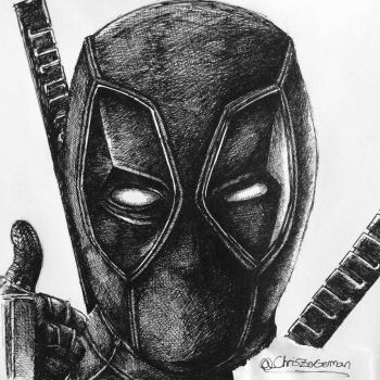 Deadpool 2016 by MailJeevas33