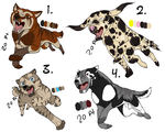 Ginga point adoptables CLOSED by Wolfjesyo