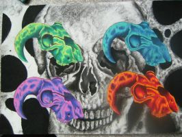 skull combo by jfisher666