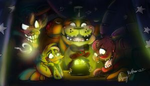 Five Nights At Freddy's by Mad--Munchkin