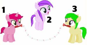 Adoptable fillies by TargetGirl